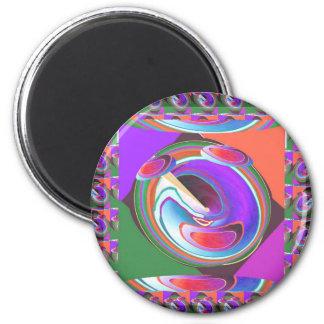 UFO graphic design Refrigerator Magnet