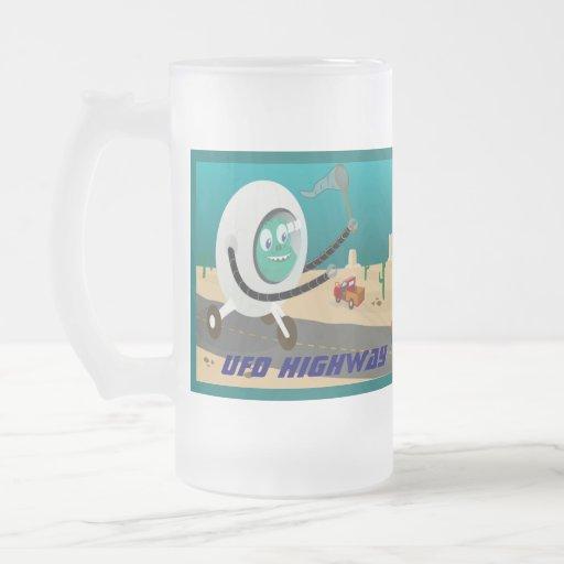UFO Highway mug