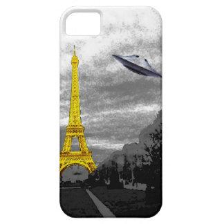 UFO in Paris iPhone 5 Cover