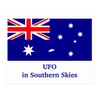 UFO in Southern Skies Postcard