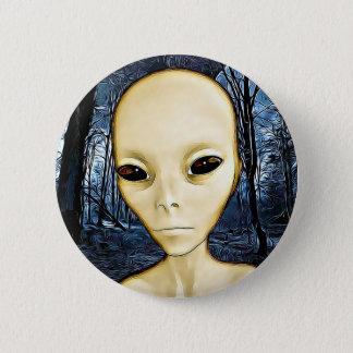 UFO Invasion Alien Greys Button