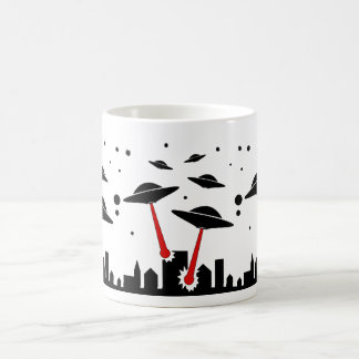 UFO Invasion Coffee Mug