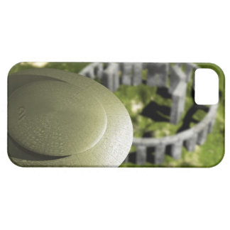 UFO investigating the site of Stonehenge as it iPhone 5 Cases