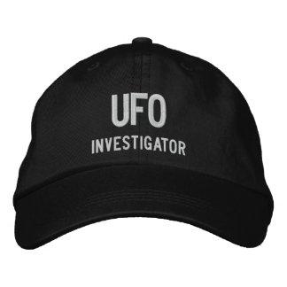UFO, Investigator Embroidered Baseball Cap