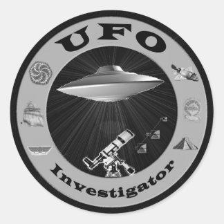 UFO Investigator Stickers