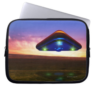 UFO Lights Laptop Sleeve