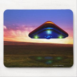 UFO Lights Mouse Mat