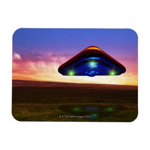 UFO Lights Magnet
