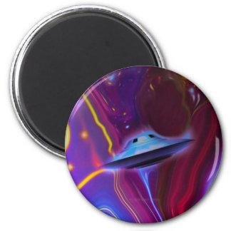 UFO Magenta Dimension Magnet