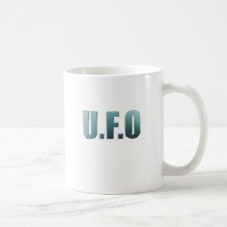 Ufo - Metal Basic White Mug