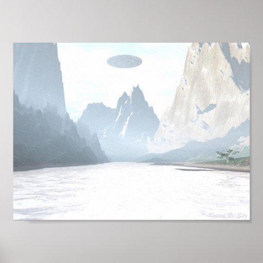 UFO - Mountain Creek Poster