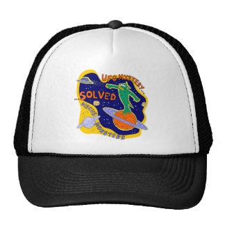 Ufo mystery solved mesh hat