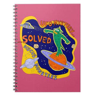 Ufo mystery solved notebook