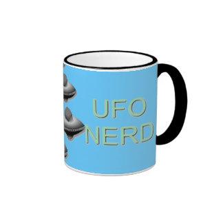 UFO Nerds Ringer Mug