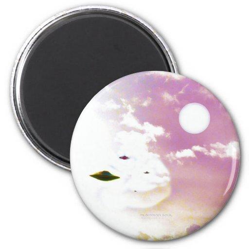 UFO Open Skies Magnet