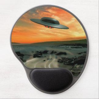 UFO Over Coast Gel Mousepads