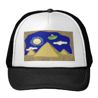 UFO Over Egypt Cap