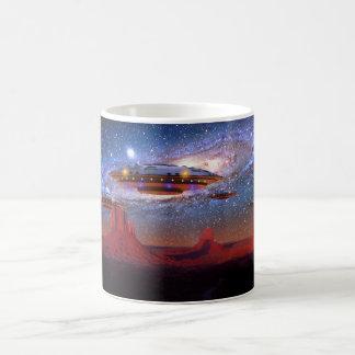 UFO Over Monument Valley Mug