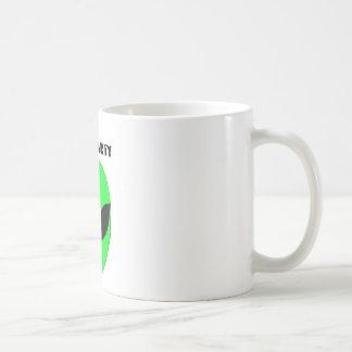 Ufo party coffe mug
