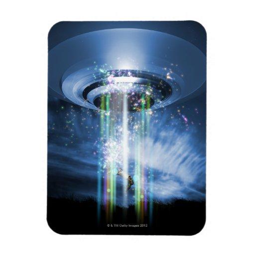 UFO VINYL MAGNET