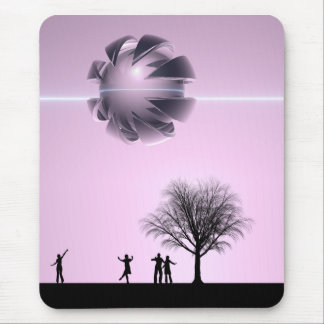 UFO Sighting Mouse Pad