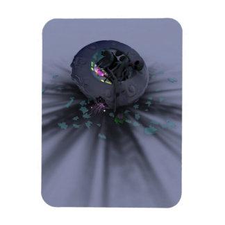 UFO Smack down Flexible Magnet
