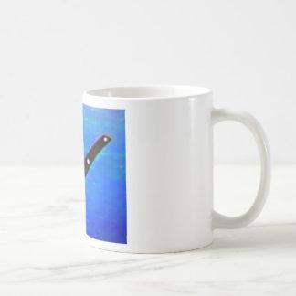 UFO Space Ship Basic White Mug
