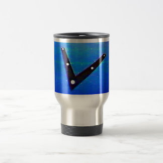 UFO Space Ship Stainless Steel Travel Mug