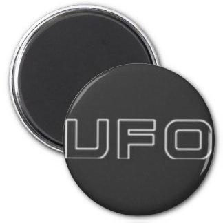ufo test 6 cm round magnet