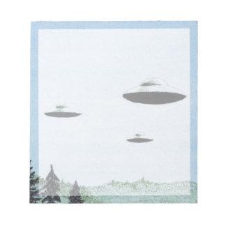 UFO Trio Notepad