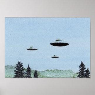 UFO Trio Poster