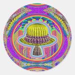 UFO Wisdom Sticker