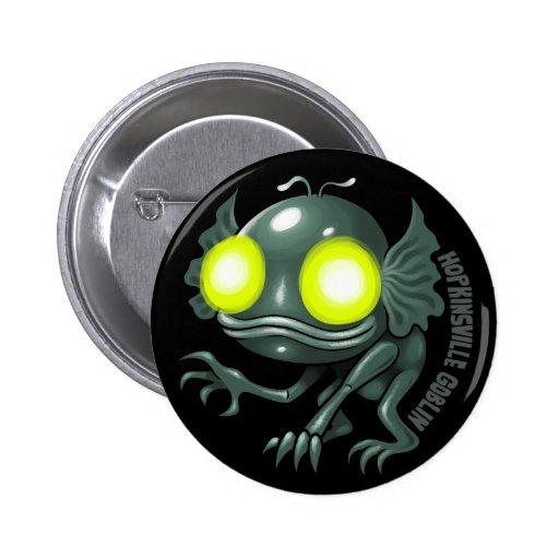 UFOLOGY: Hopkinsville Goblin Pinback Buttons