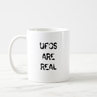 UFOS ARE REAL CLASSIC WHITE COFFEE MUG