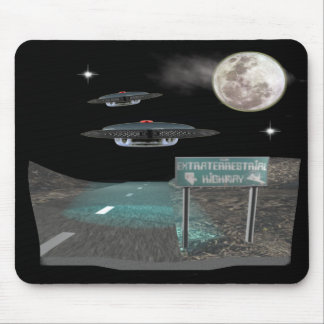 UFOS Highway Mouse Mat