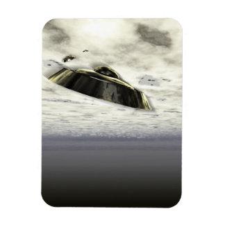 UFOs in Flight Vinyl Magnets