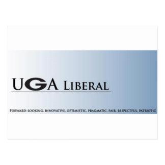 UGA Liberal Postcard