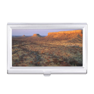 Ugab Terraces, Khorixas District, Namibia Business Card Holder