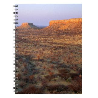 Ugab Terraces, Khorixas District, Namibia Notebooks