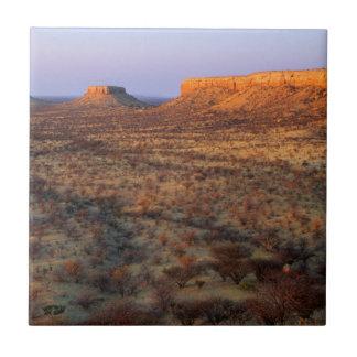 Ugab Terraces, Khorixas District, Namibia Tile