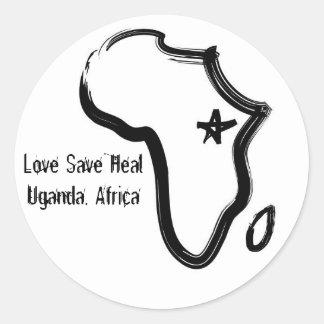 Uganda, Africa sticker