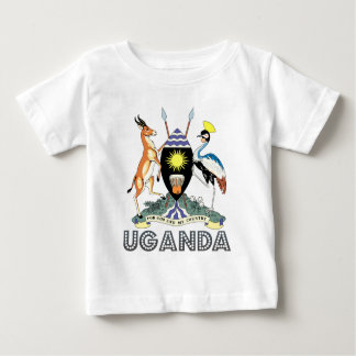 Uganda Coat of Arms Baby T-Shirt