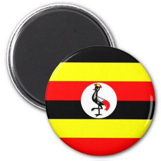 uganda country flag nation symbol magnet