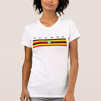 uganda country flag nation symbol T-Shirt