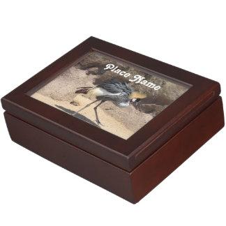 Uganda Crested Crane Keepsake Box