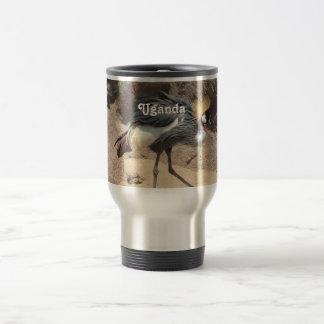 Uganda Crested Crane Coffee Mugs