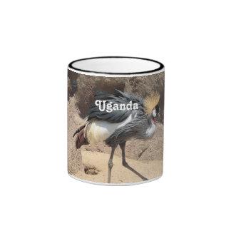 Uganda Crested Crane Mugs