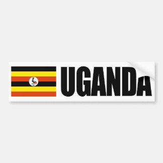 Uganda Flag Bumper Sticker