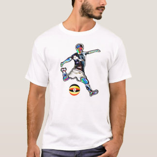 Uganda flag football soccer jersey t-shirt