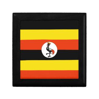Uganda Flag Gift Box